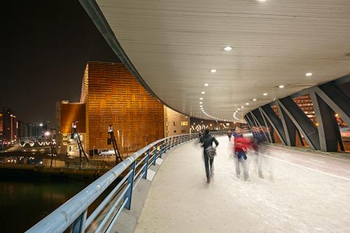 Puente Euskalduna Bilbao