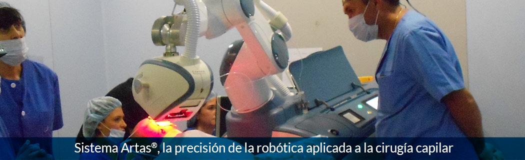 Sistema Artas, Sistema Artas, la precisión de la robótica aplicada a la cirugía capilar